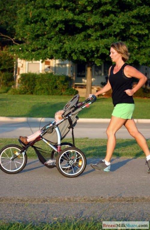 sport while breastfeeding